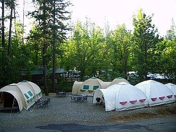 drie tenten