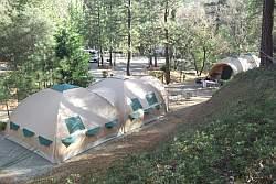 tent lodges bij Yosemite