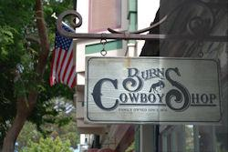Carmel cowboystore uithangbord
