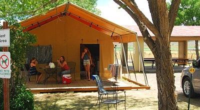 Het nieuwe model Canvas Cabin