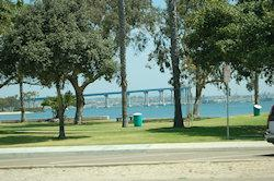 Brug naar Coronado Island, San Diego