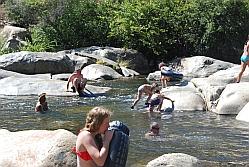 Een zwemmiddag in Kern River
