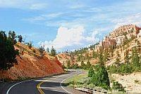 een weg door Colorado