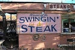 Cowboy cookout met geweldige steak
