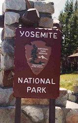 Toegang tot Yosemite NP
