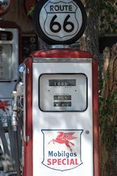 tanken aan route 66