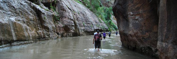 Beeld van The Narrows in Zion