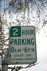 Verboden lang te parkeren