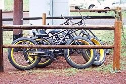 fietsen op Wiliams KOA
